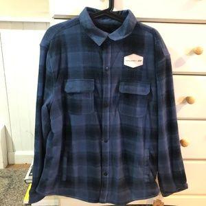 NWT Urban Pipeline Fleece Flannel Jacket - Large